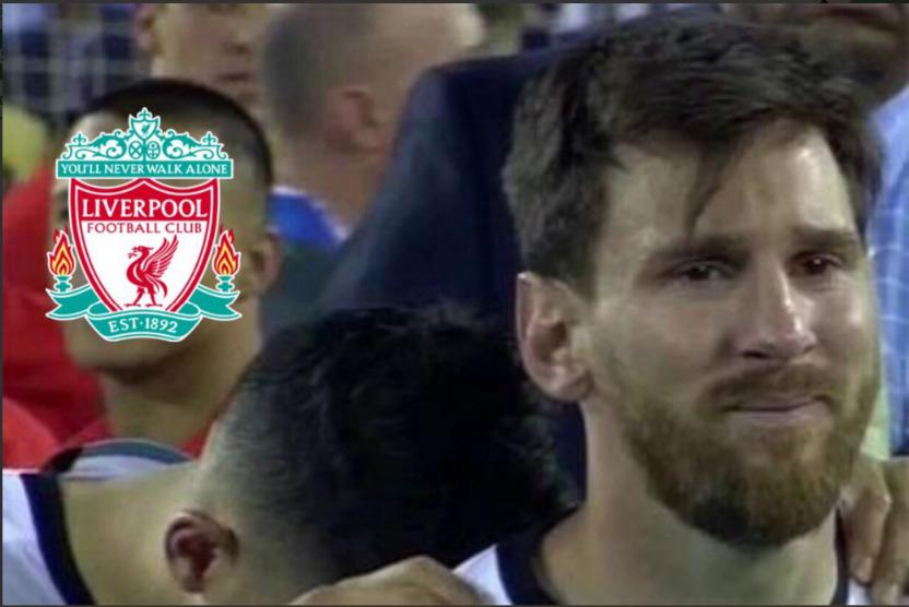 Estos son los mejores memes que dejó la derrota del FC Barcelona ante el Liverpool en Anfield por las semifinales de la Champions League