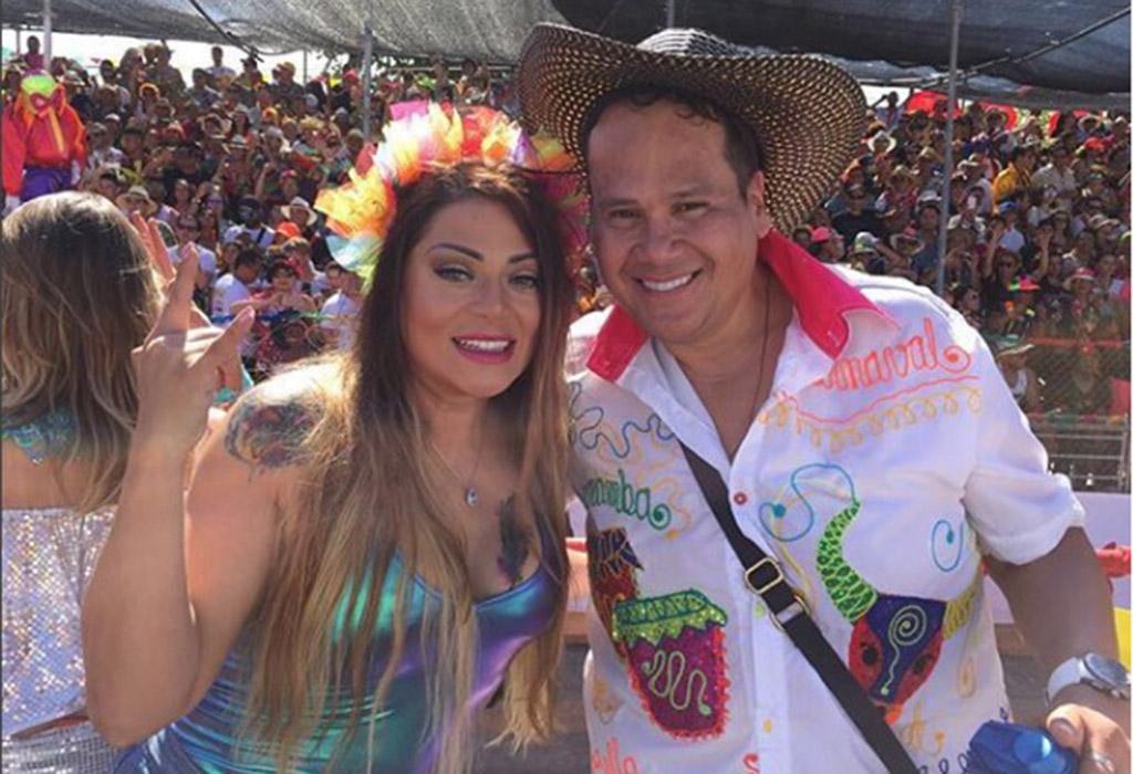 La cantante Marbelle y el periodista Ariel Osorio más conocido como 'El gordo Ariel' son los presentadores del programa 'Lo sé Todo'.
