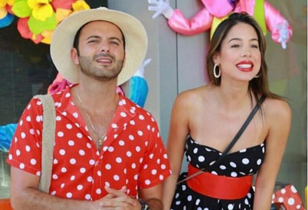 El actor Mario Espitia y la presentadora de entretenimiento de Caracol Televisión, Daniela Vega.