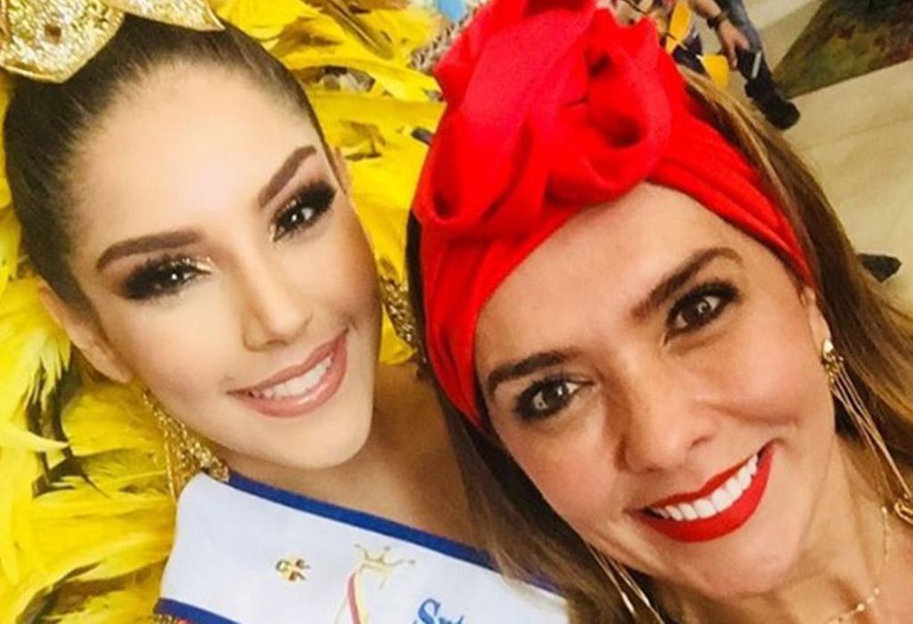Laura González y Mónica Rodríguez se volvieron muy amigas en el Carnaval.