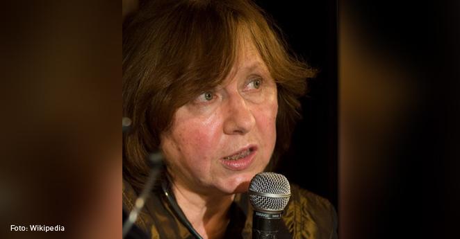 Svetlana Alexiévich, periodista comprometida, Nobel de Literatura 2015