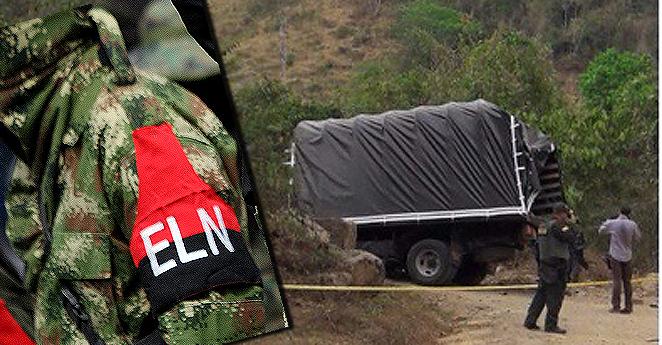 Tres policías y dos soldados muertos en ataques del ELN