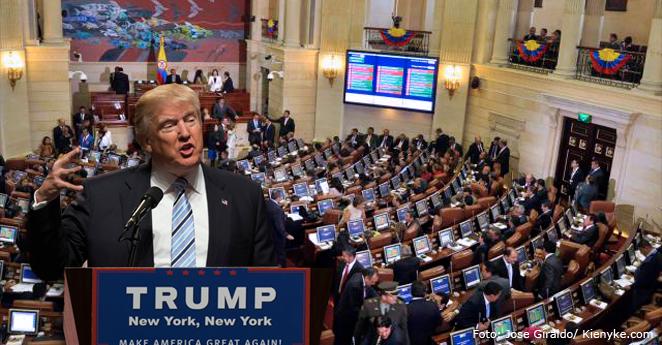 Investigan a directivos del Senado por viajar a posesión de Trump