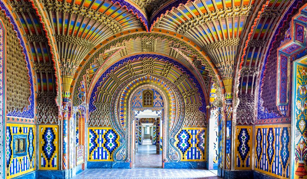 Sammezzano, el castillo atrapado en el tiempo y la fantasía