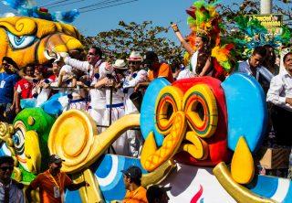 Inicia la temporada de pre Carnaval en Barranquilla