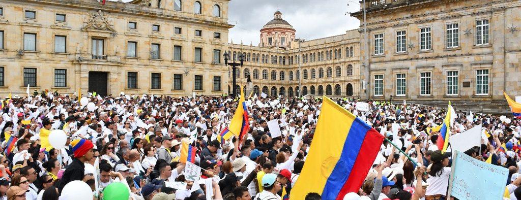 Palabras de Alcalde de Bogotá en la #MarchaPorNuestrosHéroes