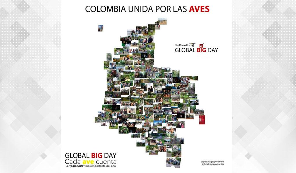 Colombia quiere ser ganador en el 'Global Big Day'