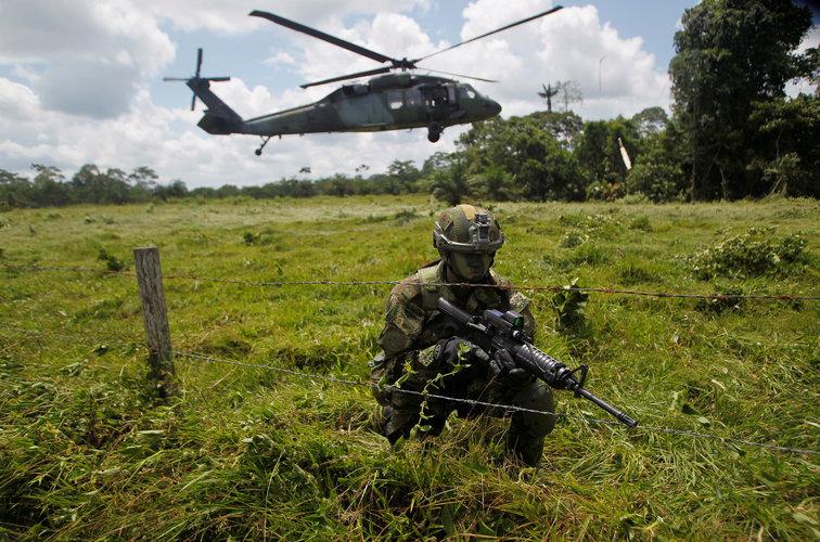 Fuerzas militares de Colombia bajo la lupa